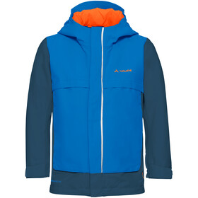 VAUDE Racoon V Jacket Kinder radiate blue